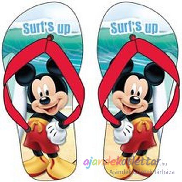 e24067fb7e Mickey egér papucs fiúknak, lányoknak. | Ajándékötlettár