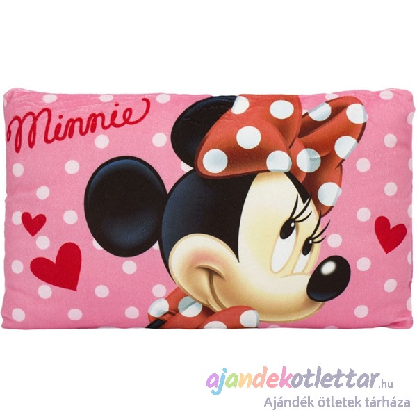 Minnie párna 36×22 – rózsaszín. 1 d65f1eb3e7