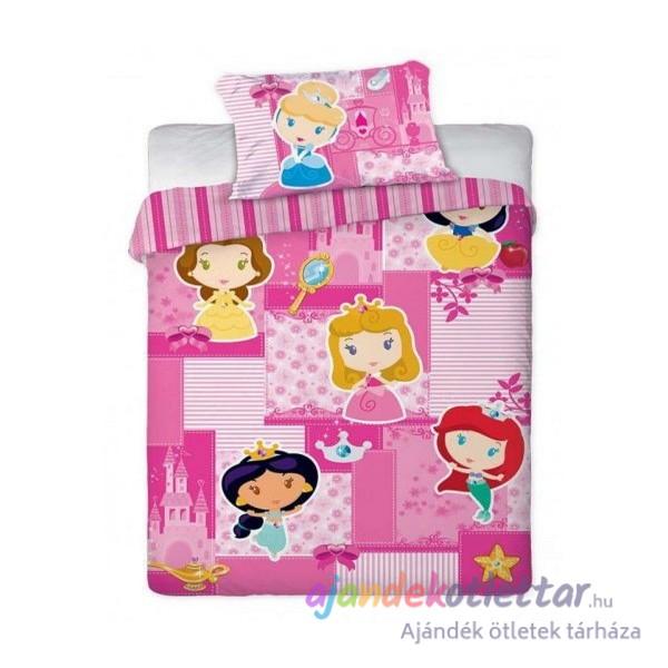 Hercegnők ovis ágyneműhuzat – princess rózsaszín bc0c34dc05